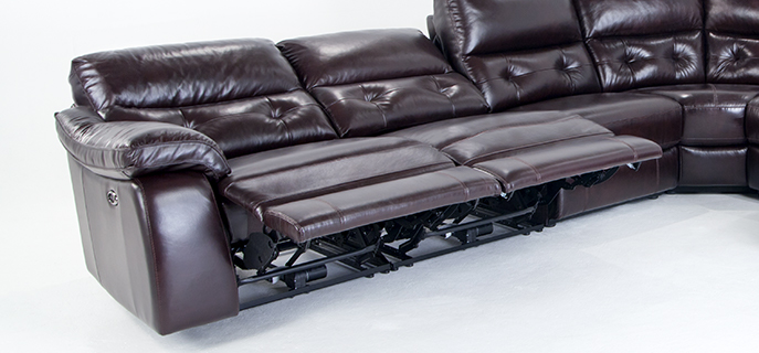 Enjoy power reclining sectionals at the touch of a button | Bob's Discount Furniture