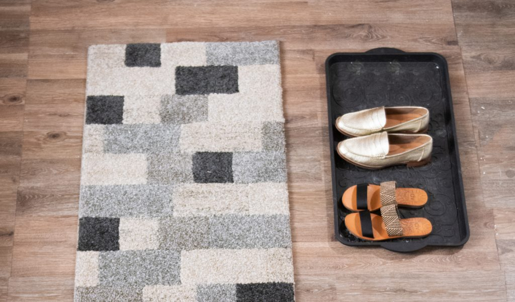 Declutter your entryway with a designated spot for shoes | Bob's Discount Furniture
