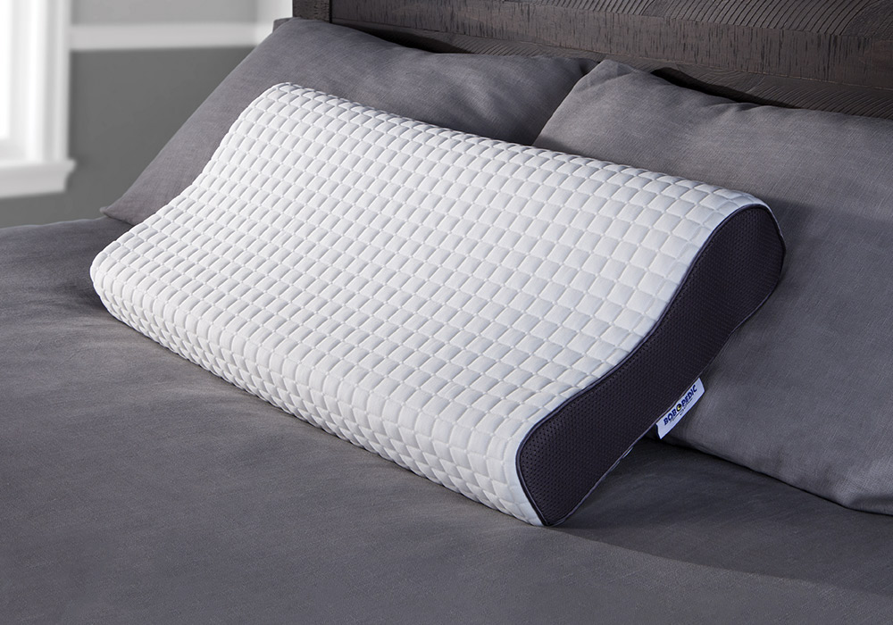 Wake up feeling refreshed and well-aligned after a night sleeping on my Bob-O-Pedic Health Pillow! | Bob's Discount Furniture
