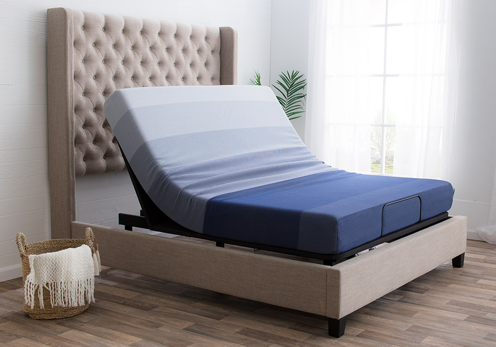 Adjustable Base Bed with Head Inclined | Bob's Discount Furniture