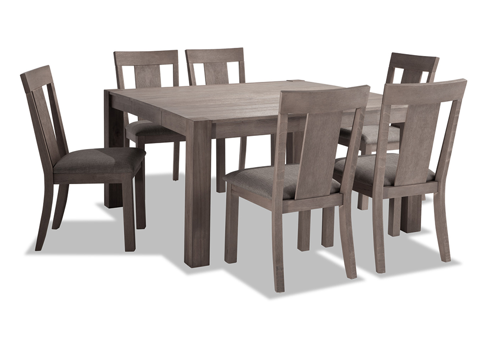 "Summit 54"" x 54"" 7 Piece Dining Set 