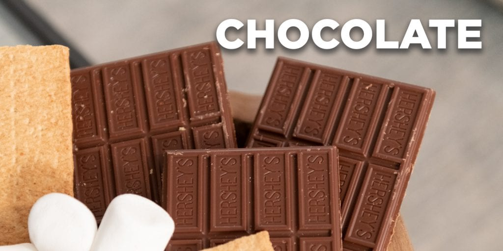 Try a variety of chocolates when making s'mores | Bob's Discount Furniture