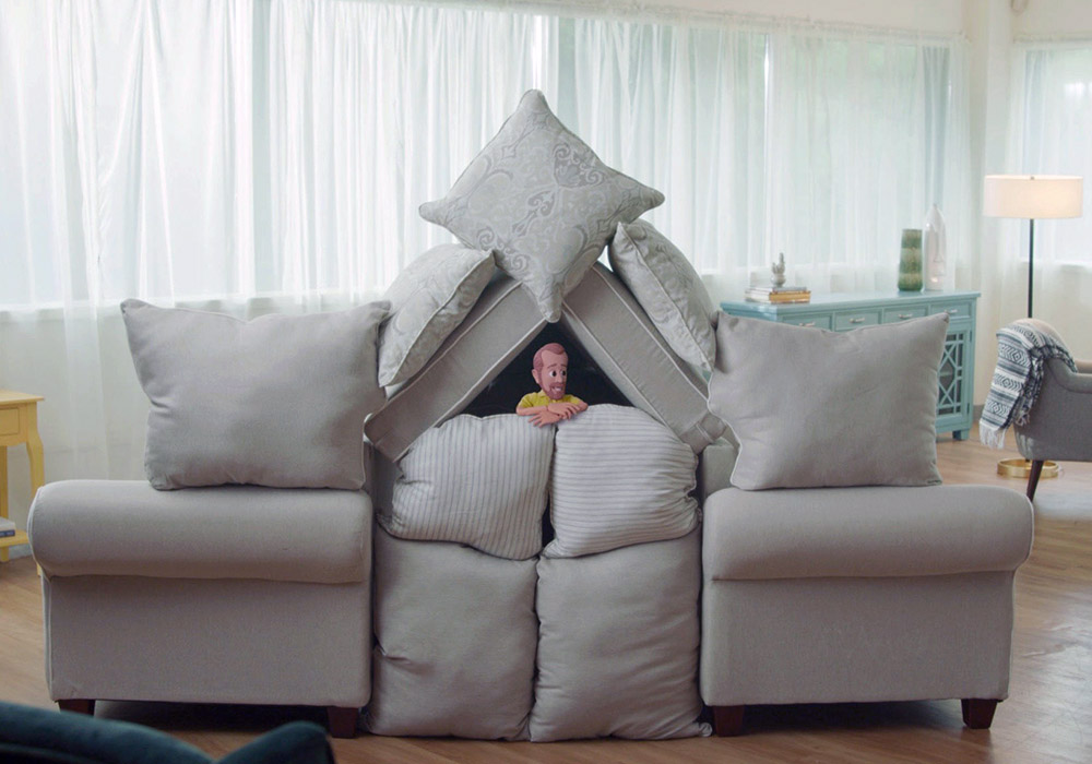 Living Room Pictures Of Blanket Forts